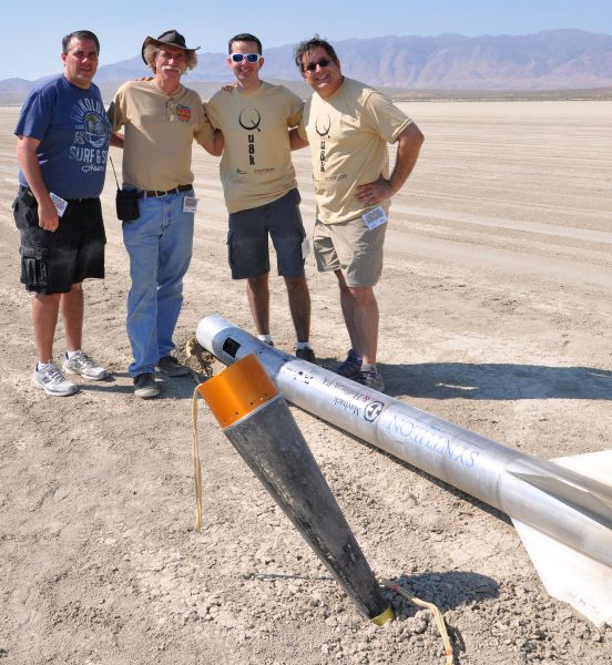 Homemade Rocket That Traveled to Outer Space