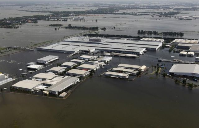 Honda Factory Turned Into Swamp