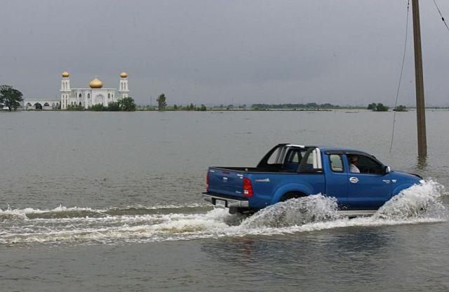 Honda Factory Turned Into Swamp