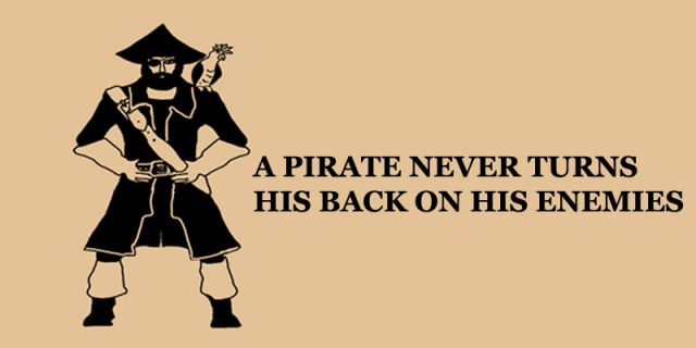 The Reason Why a Pirate Doesn