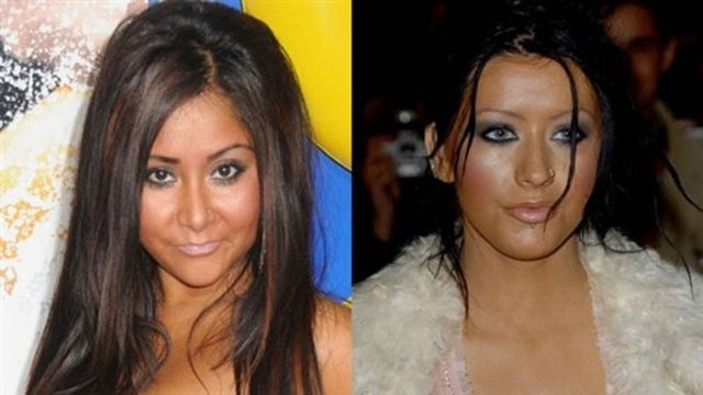 Were Christina Aguilera and Snooki Separated at Birth?