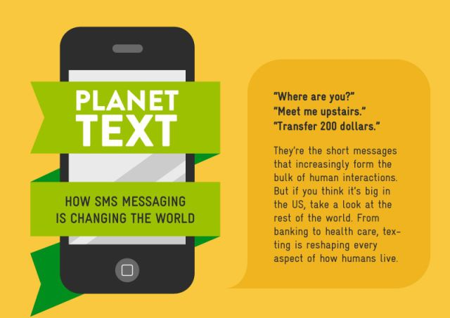 How SMS Messaging Is Changing Our World