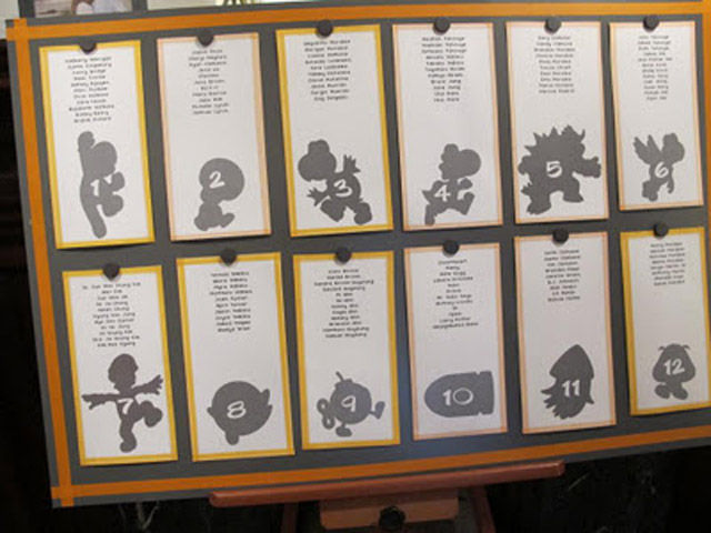Awesome Super Mario Themed Wedding Invitations