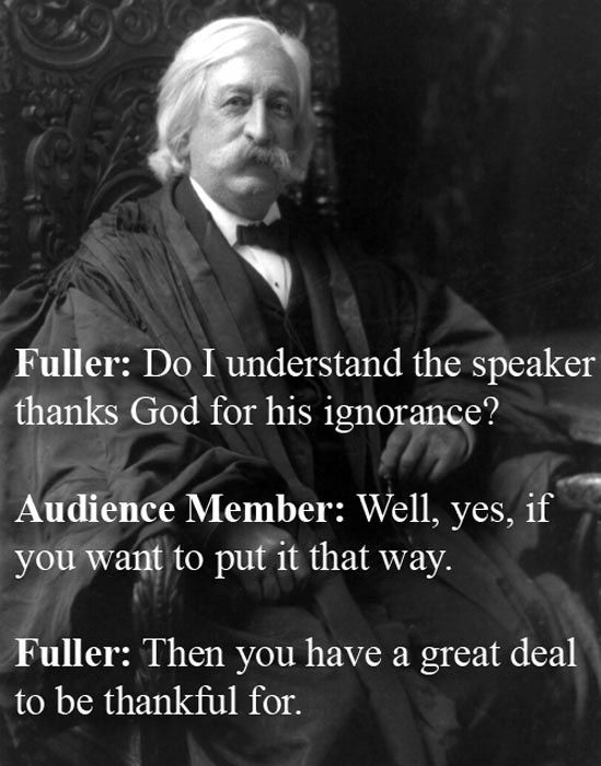 Historical Figures' Cleverest Verbal Retorts