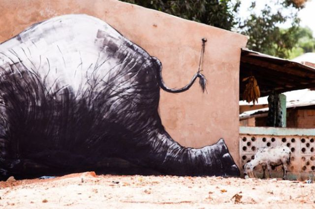 Animal Inspired African Street Art