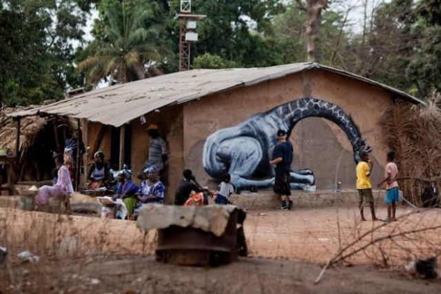 Animal Inspired African Street Art