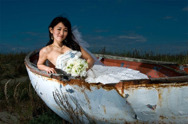 Extreme and Wet Wedding Photography