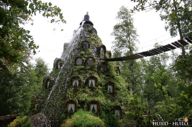 Incredible Magic Mountain Like Chilean Hotel