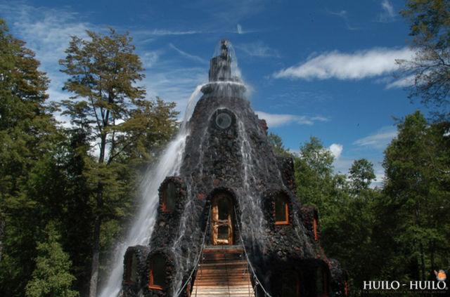 Incredible Magic Mountain Like Chilean Hotel