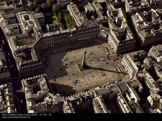 Magnificent Bird's Eye View Photos of Paris
