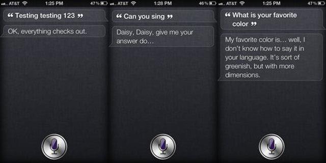 Funny Apple iPhone Siri Responses