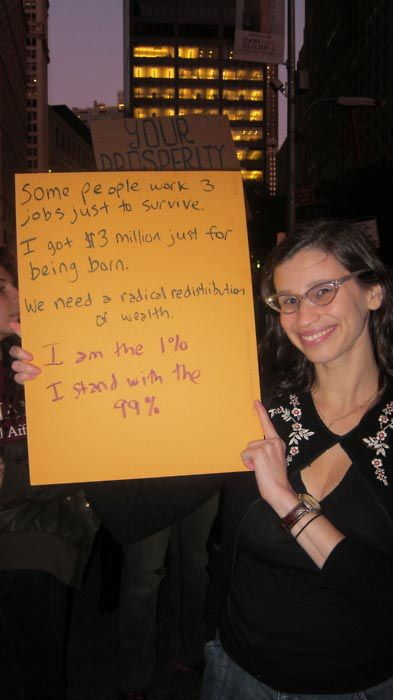 The 1% Call for Wealth Redistribution to the 99%