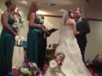 Little Flower Girl Shushes Entire Room