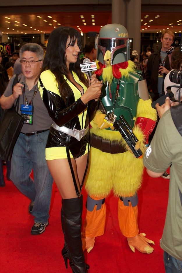 Cosplayers at 2011 Comic-Con