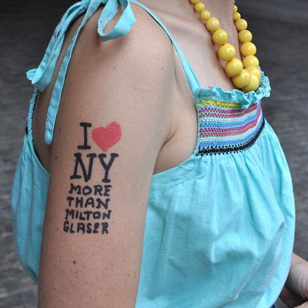 New Designer Line of Temporary Tattoos