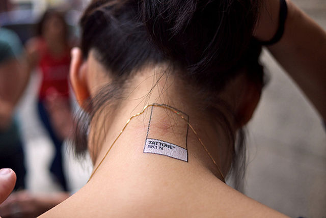 New Designer Line of Temporary Tattoos