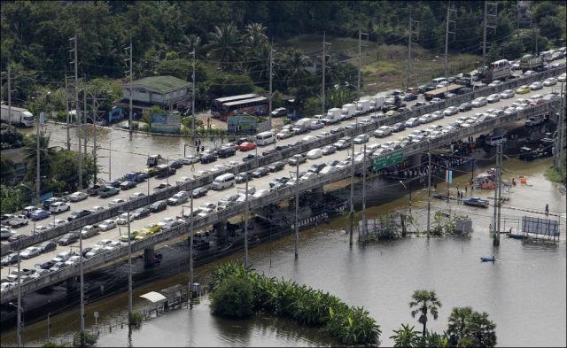 The Worst Flooding in Bangkok