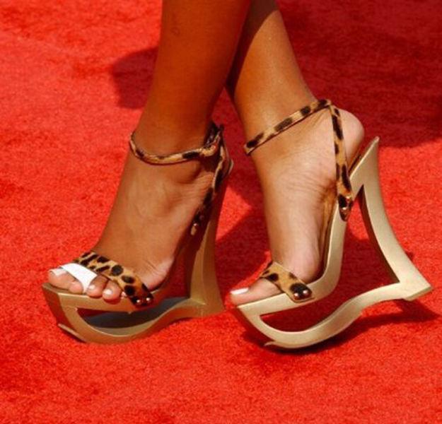 Strange Celebrity Shoes