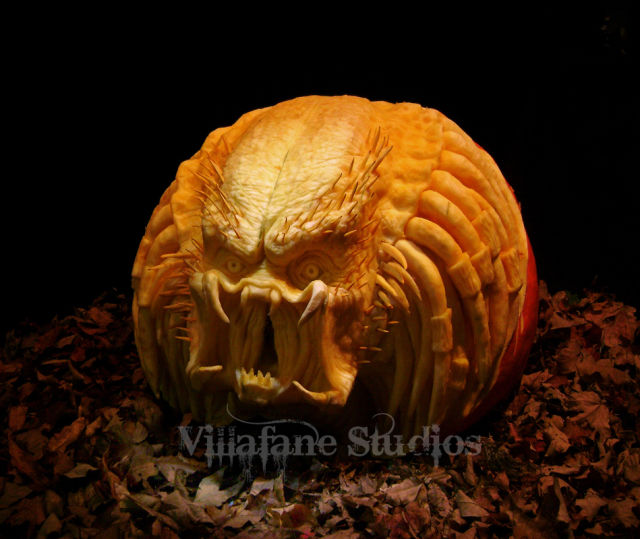 The Most Outrageous Pumpkin Carvings Ever