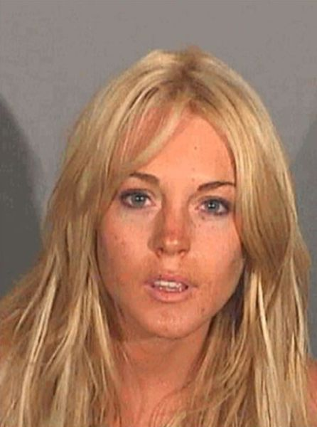 Lindsay Lohan: The Queen of Mugshots