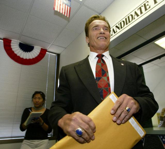 Arnold Schwarzenegger Timeline