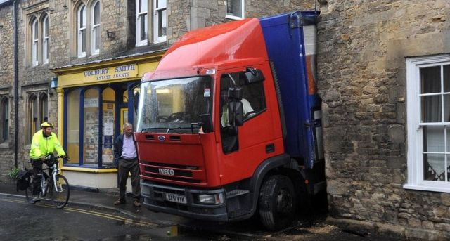 Truck Driver Makes the Whole Town Laugh