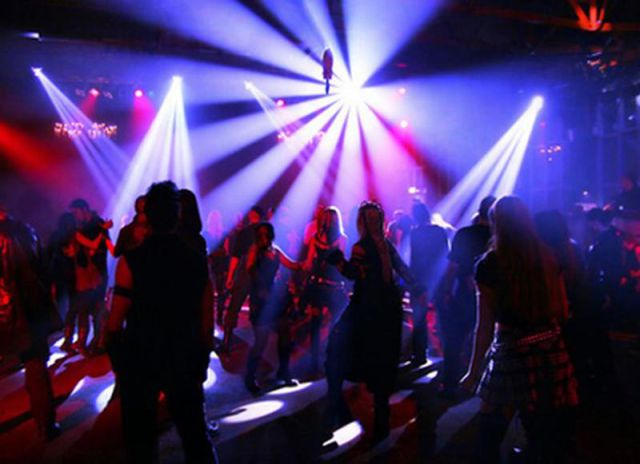 Spectacular Rave Light Show Parties