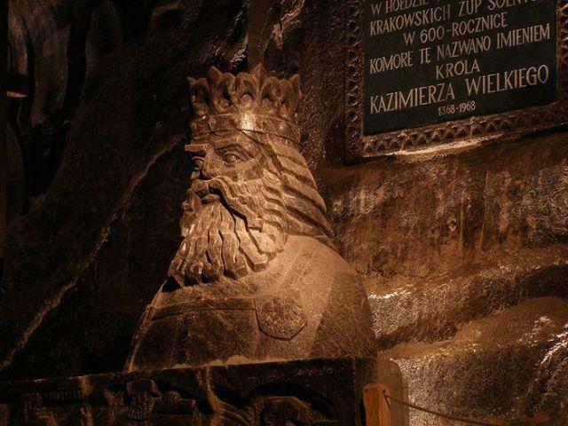 Impressive Salt Cathedral in Poland
