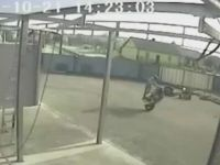 Motorcycle Trick Fail