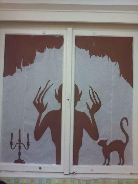 A Halloween Window