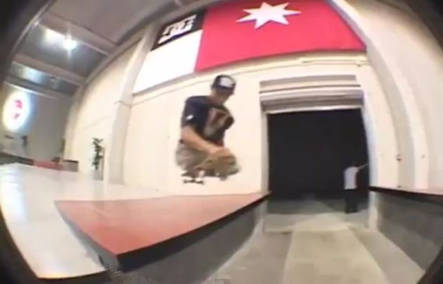 Amazing Legless Skateboarder
