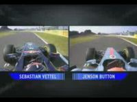 F1 Pole Lap Comparison – Vettel vs Button
