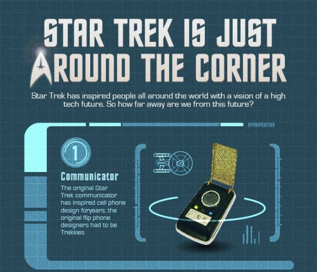 Interesting Star Trek Infographic