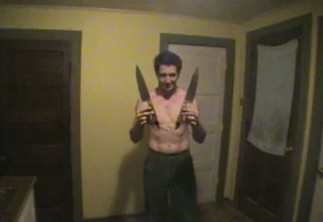 Insane Dude Uses Kitchen Knife Nunchucks