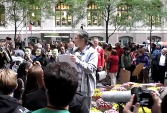 Celebrities Spotted at Occupy Wall Street Protests