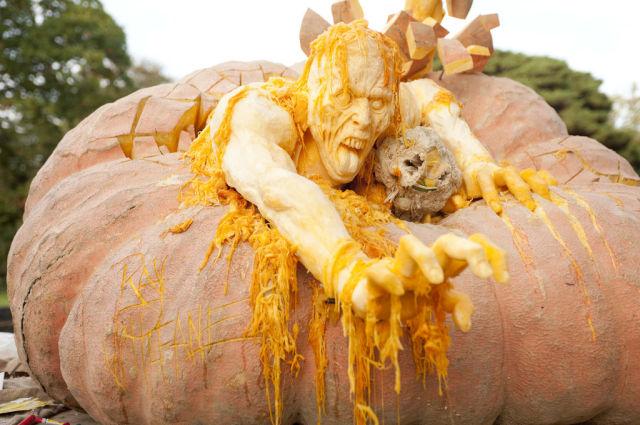 One Big Pumpkin Carving