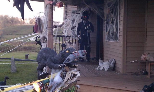 The Craziest Halloween Decorations