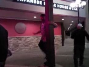 Street Light Pole Dance Fail