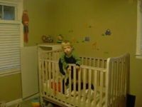 Baby Tries the Great Escape of the Crib