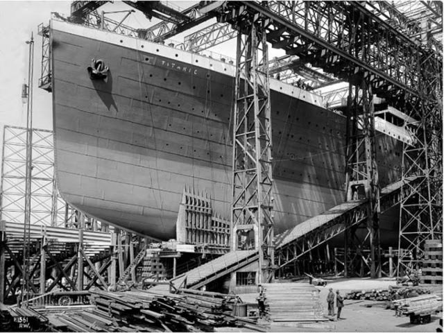 Amazing Titanic Construction Photos