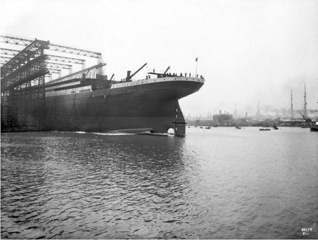 Amazing Titanic Construction Photos