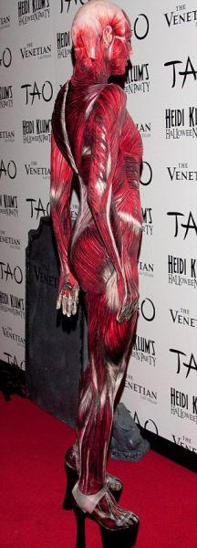 Heidi Klum's Amazing Halloween Costume