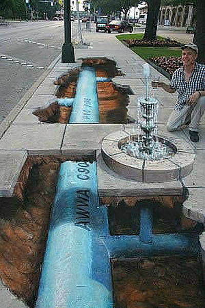 Incredible 3D Street Drawings