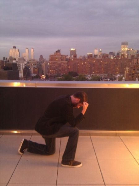 Planking Out, Tebowing In