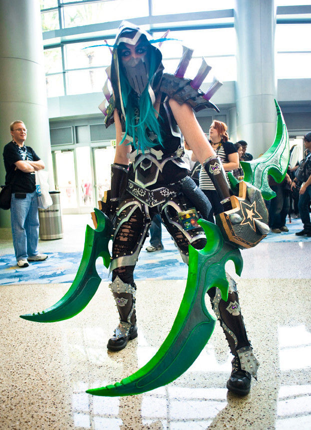 Incredible 2011 Blizzcon Attendees Costumes