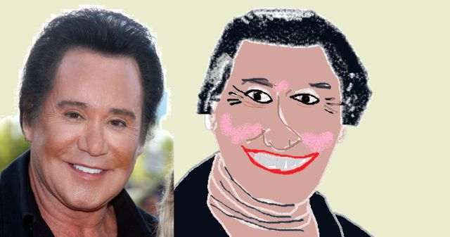Famous People Portraits Created in MS Paint