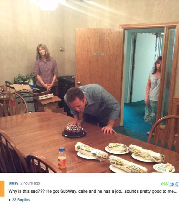 Entertainingly Depressing Photos