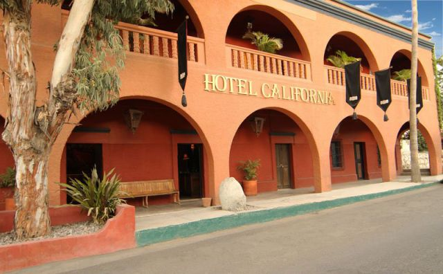 "Welcome to the ""Hotel California"""