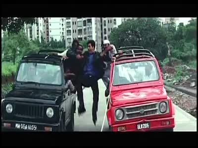 Epic Bollywood Car Chase