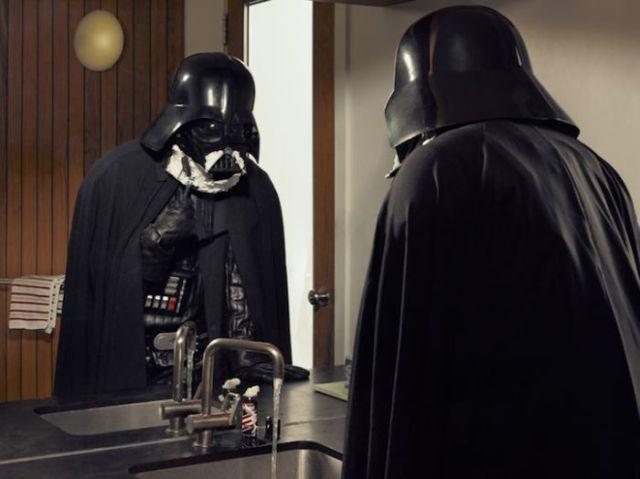 Darth Vader and Superhero Grandpa